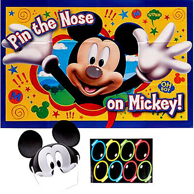 MICKEY MOUSE Fun & Friends PARTY GAME POSTER~ Birthday Supplies Decorations - Mickey Mouse Birthday Games