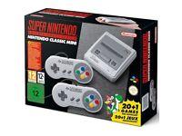 Super Nintendo Snes Classic Mini (New Unused)