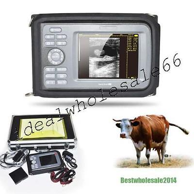 Portable Veterinary Digital Handheld Ultrasound Scanner Machine Rectal Probe