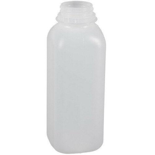 DOCC PET Square Juice Bottle Clear, 16 oz. | 160/Case