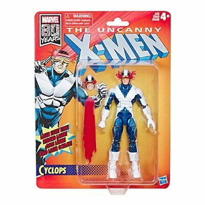 IN STOCK!  X-Men Retro Marvel Legends 6-Inch Cyclops Action Figure by Hasbro