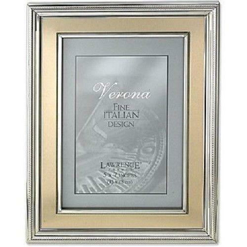 silver picture frame 5x7 ebay. Black Bedroom Furniture Sets. Home Design Ideas