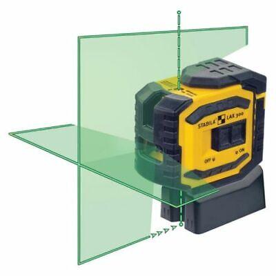 Stabila 03185 LAX300G Green Beam Cross Line Plus Plumb Dots Laser Level! NIB! - Tools Plus Level