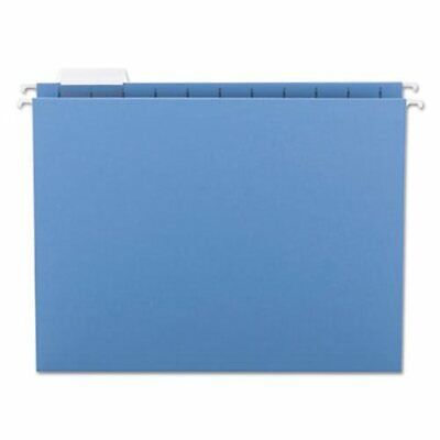 Smead Hanging File Folders 11 Point Stock Letter Blue 25box Smd64060