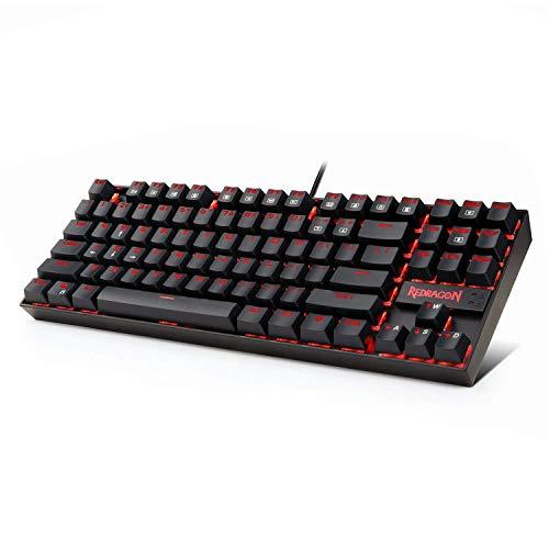 Redragon K552 RED LED Backlit Mechanical Gaming Keyboard SMA