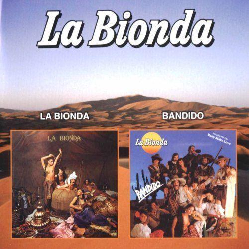 "La Bionda - ""la Bionda / Bandido / High Energy / I Wanna Be Your Lover"" 2 Cd Set"