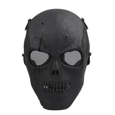 Full-Face Mask Skull Ghost Airsoft Protection Gear Tactical War Game Paintball