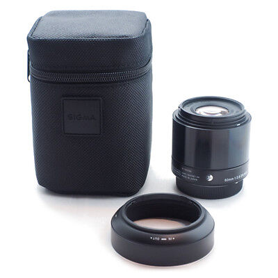 SIGMA Single Focus Standard Lens Art 60mm F2.8 DN Black for Sony E mount Camera