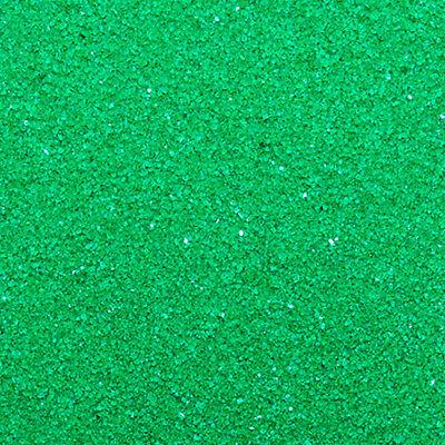 16oz GREEN Bulk Color Resin Incense Burner Heat Absorbing / Decorating Sand - Colored Sand Bulk