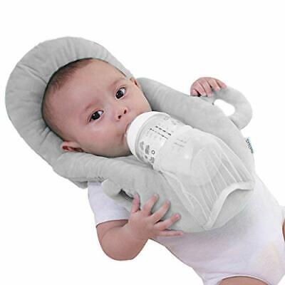Baby Detachable Anti Roll Prevent Flat Self Feeding Nursing Pillow Portable B...