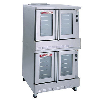 Blodgett Electric Convection Oven Double Stack 220240v Single Phase Sho-e