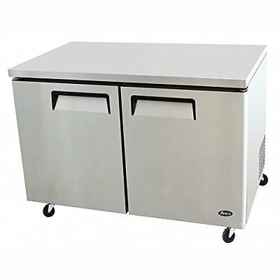 Atosa Mgf8402 48-inch Two-door Under-counter-refrigerator