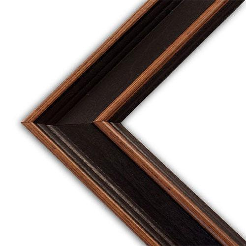 24x36 Picture Frame Wood Black