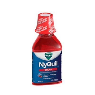 Vicks Nyquil Cherry Cough Syrup, Pack of 3