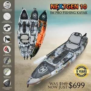 Fishing Kayaks Single & Tandem Kayak For Sale in Wollongong Brand New