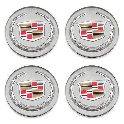 Set of 4 Cadillac 9597375 9595439 DTS SRX XLR CTS ATS XTS Center Caps Hubcaps