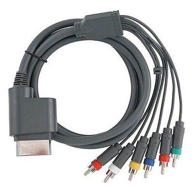 XBOX 360 High Definition 720p 1080p HD A/V Composite Audio Video Cable Cord comprar usado  Enviando para Brazil