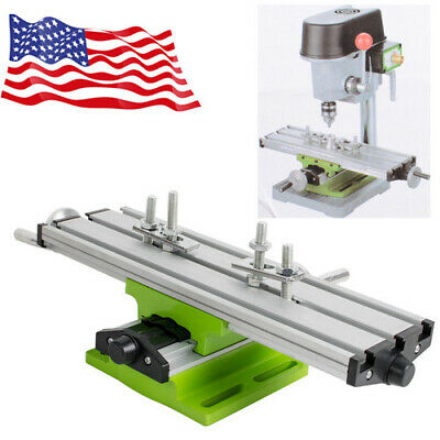 Great Milling Machine Cross Sliding Table Vise For Diy Lathe Bench Drill Usa