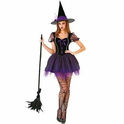 Wicked Witch Women's Halloween Costume Sexy Spellcaster Classic Fairytale Dress - Wicked Witch Dress