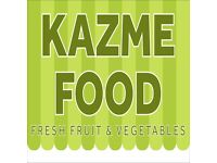 Urgent Staff Required for Fruit and Vegetable Shop - Full Time or Part Time
