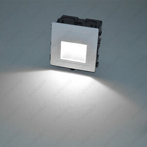 1w led wall sconce step light fixture waterproof outdoor yard lamp junction box ebay for Exterior light no junction box