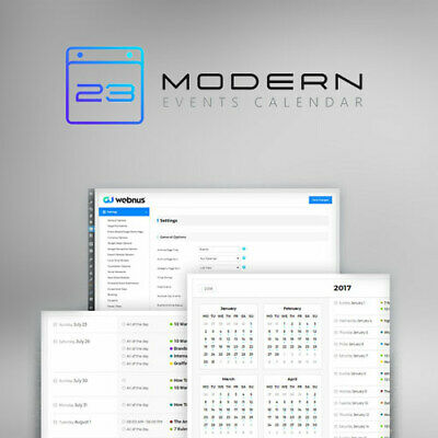 Modern Events Calendar Wordpress Plugin Lastest Version 2020