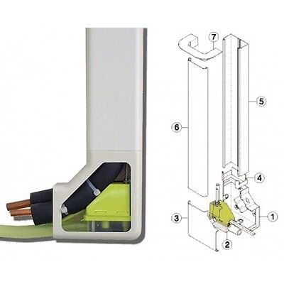 Mini Lime with Trunking Condensate Pumps