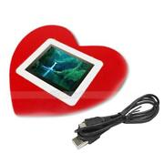 Digital Photo Frame Heart