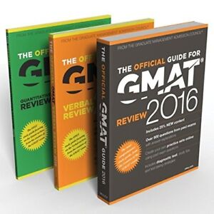 GMAT 2016 Official Guide Bundle - BRAND NEW UNOPENED