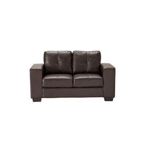 Marvelous Sofa Durban 2 Seater Brown Bonded Leather Foldable Sofa In Haslingden Lancashire Gumtree Beatyapartments Chair Design Images Beatyapartmentscom