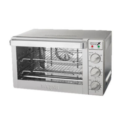Waring Wco500x Electric Countertop 12-size Commercial Convection Oven