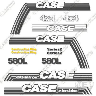 Case 580l Series 2 Extendahoe Decal Kit Backhoe 580 L - 7 Year 3m Vinyl