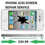 iPhone 4 Smashed Screen