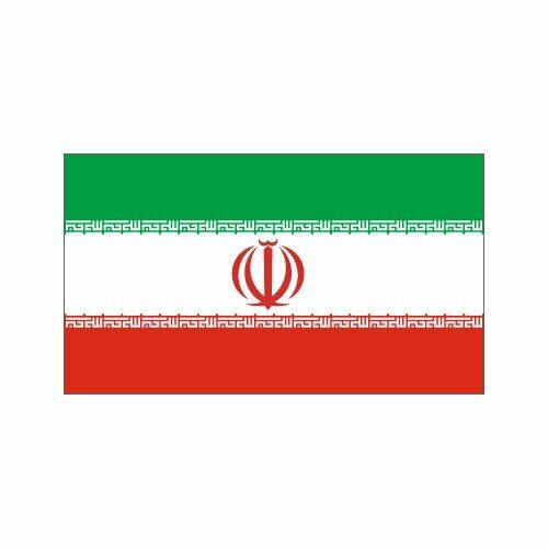 Modern day Persian Flag, Three-Coloured Flag 3 X 5 ft, BRAND NEW !