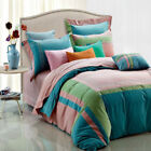 Quilt Cover 100% Cotton Quilt Covers with Four-Piece Items in Set