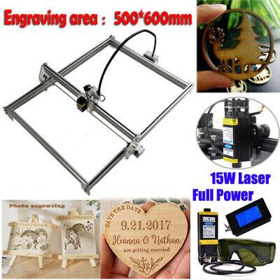 Mini Cnc 5060 2axis Engraving Router 15w Laser Module Diy Milling Engraver