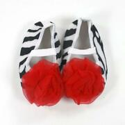 Zebra Print Baby Shoes