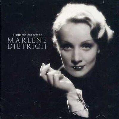 Marlene Dietrich   Lili Marlene  Best Of Marlene Dietrich  New Cd