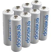 AA Rechargeable Batteries 8 Pack
