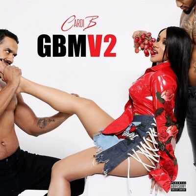 Cardi B   Gangsta Bitch Music Vol  2 Mixtape Cd