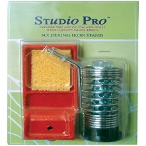 STUDIO PRO HEAVY DUTY STAINED GLASS SOLDERING IRON STAND PROFESSIONAL