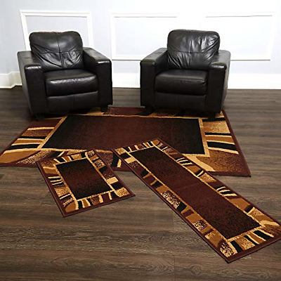 Home Dynamix 3-Piece Power Loomed Polypropylene Rug Set