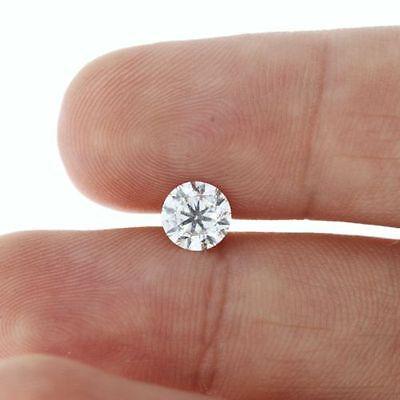 Certified 6.5mm 1 ct EHM Cultured Diamond HPHT Treated G/VS1 TEST As DIAMOND