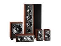 JBL Northridge Cinema Pack 5.1 floor standing speakers in cherry E80 E20 EC25 E150