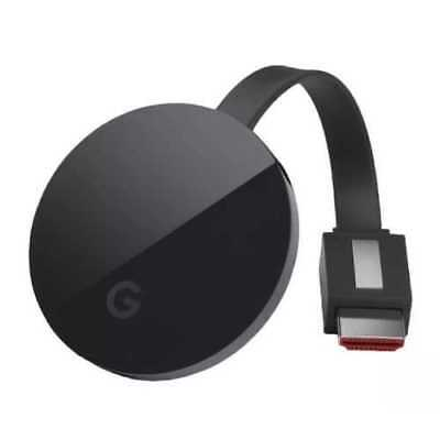 Google Chromecast Ultra 4K HDMI Media Streaming Player