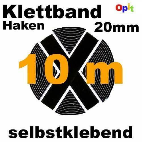 klettband selbstklebend 10m ebay. Black Bedroom Furniture Sets. Home Design Ideas