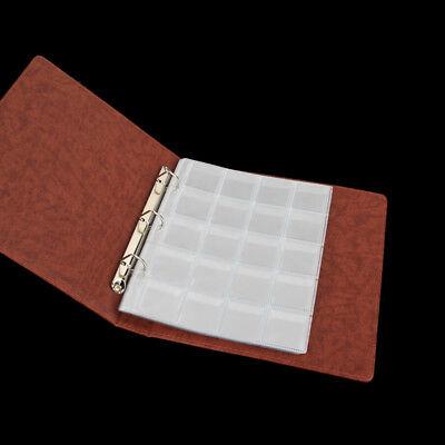 unststoff Münzrähmchen Lagerung Sammlung Geld Album TC W0HWC (Kunststoff Lagerung Taschen)