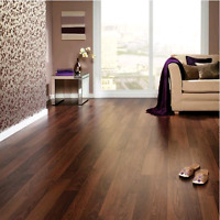 Laminate flooring professionally installed