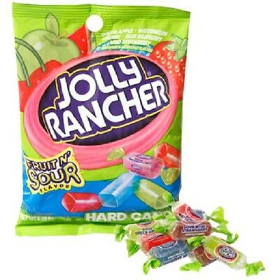 New Jolly Rancher Hard Candy Fruit N Sour Flavor 3 8 Oz  Best By 03 2018