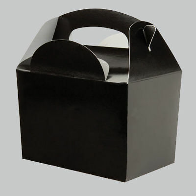 Black Party Box - Great for Baby Showers, Gift Box, Wedding Favours, Parties